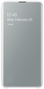 Samsung Galaxy S10 Clear View Cover S10 White