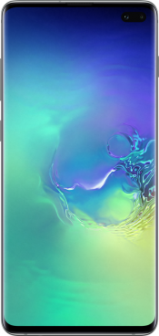 Galaxy S10+ 128GB Prism Green (Front)