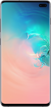 Galaxy S10 Plus 128GB Prism Silver (Front)