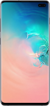 Galaxy S10 Plus 128GB Prism White (Front)