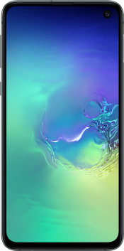 Galaxy S10e 128GB Prism Green Refurbished (Front)