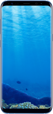 Galaxy S8 Plus Coral Blue (Front)