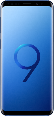 Galaxy S9 Blue (Front)