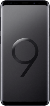 Galaxy S9 Plus Black (Front)