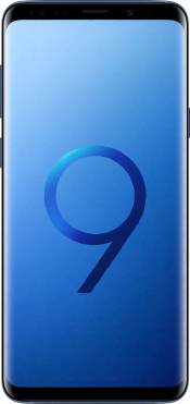 Galaxy S9 Plus Blue (Front)