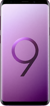 Galaxy S9 Plus Purple (Front)
