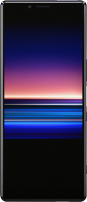 Xperia 1 64GB Purple (Front)