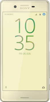 Xperia X Gold (Front)
