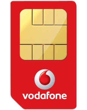 how to open vodafone sim