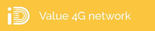 iD value 4G network