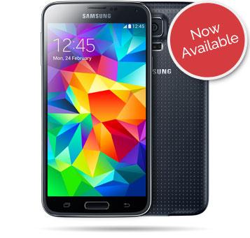 Samsung Galaxy S5 handset