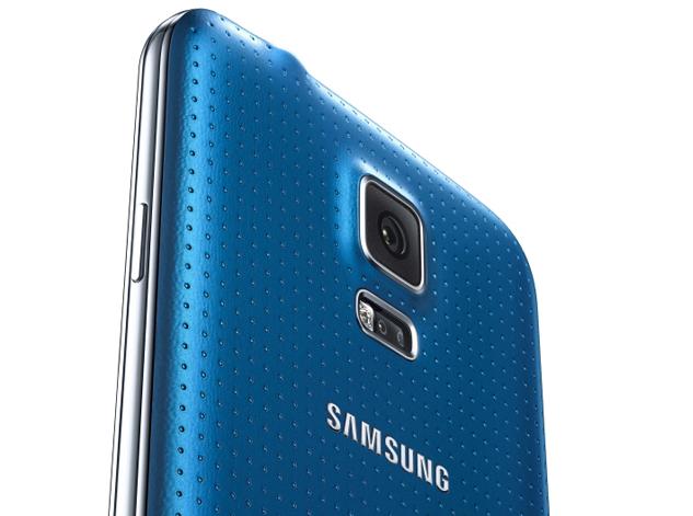 Electric Blue Samsung Galaxy S5