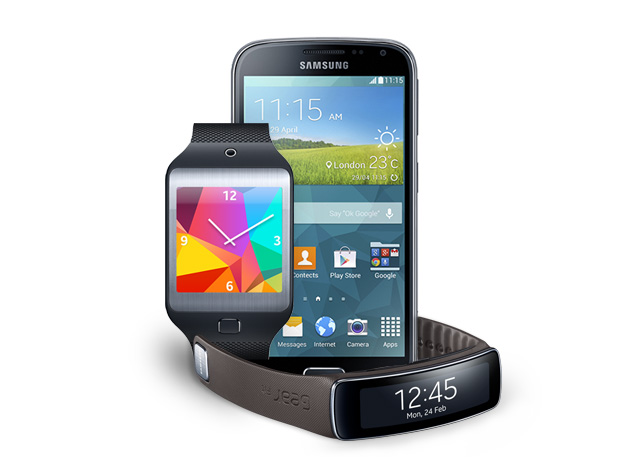 Samsung Galaxy K Zoom with Gear Fit and Gear 2