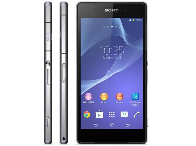 Sony Xperia Z2 Design