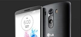 handset image of LG G3