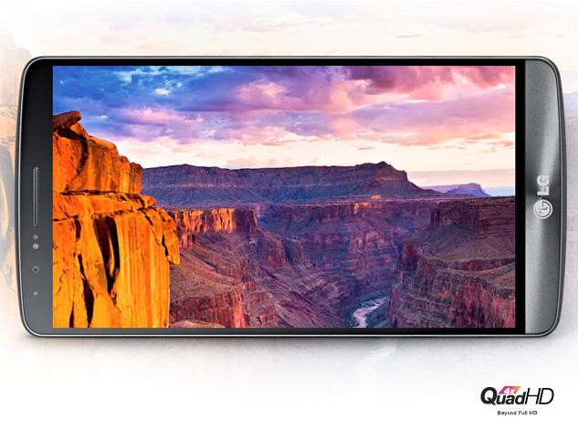 LG G3 screen display
