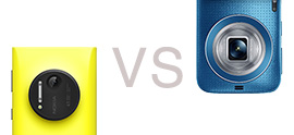 Samsung Galaxy K Zoom vs Nokia Lumia 1020