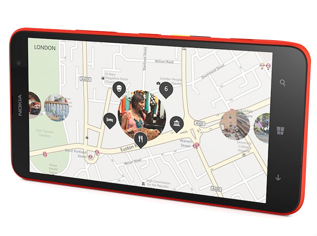 Nokia lumia 1320 features
