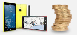 Nokia Lumia 1320 contracts
