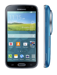 Samsung Galaxy K Zoom Electric Blue handset