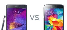 Note 4 vs S5