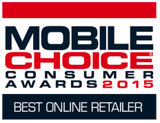 Mobile Choice Consumer Awards 2013 - Best Online Retailer