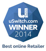 uSwitch Winner 2013 - Best Online Retailer