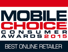Mobiles choice awards Winner 2015 - Best Online Retailer