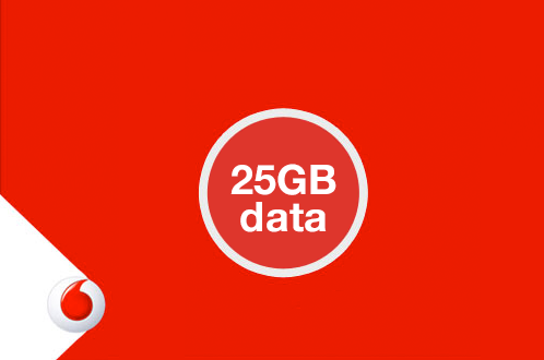 Unlimited 4G Data plans on Vodafone