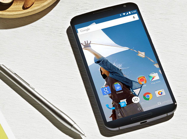 Google Nexus 6 design