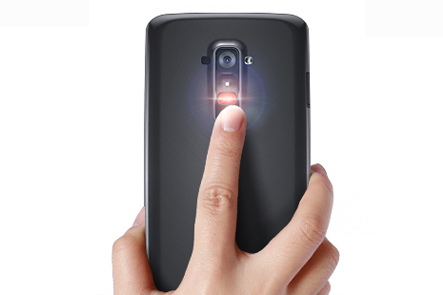 Rear button LG G2