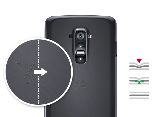 LG G Flex - Self healing cover
