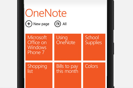 Microsoft apps on Nokia smartphones
