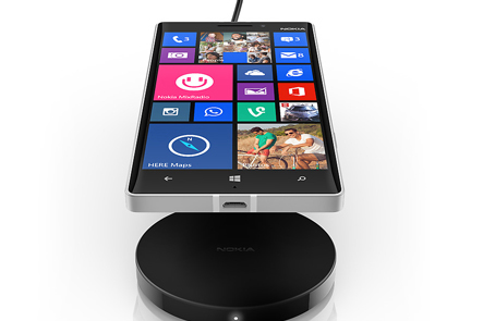 Wireless Charging on Nokia Lumia smartphones