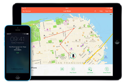 Find my iPhone - Track your iPhone if it ever gets lost.