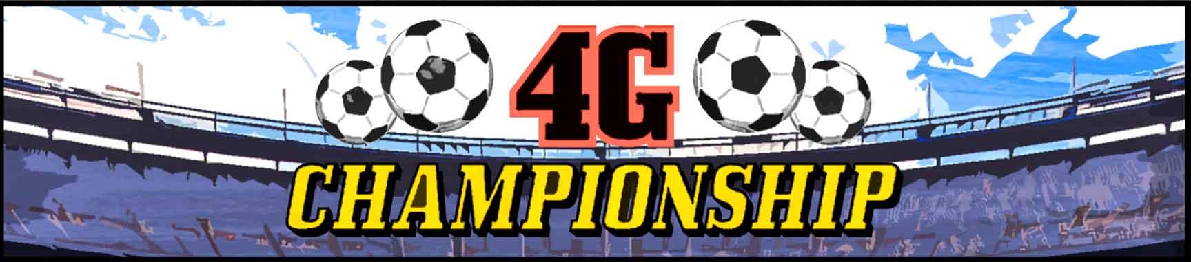 4G Championship league banner
