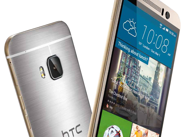 HTC One M9 5 inch Quad HD display