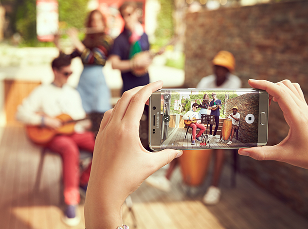 Samsung Galaxy edge Plus hardware and software