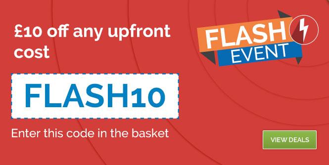 Flash Event voucher code