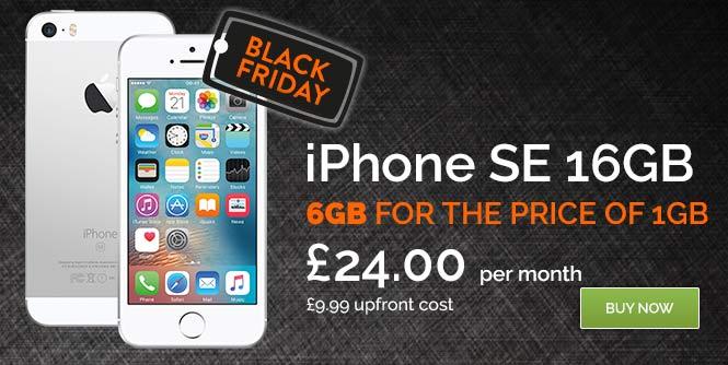 IPHONE SE BLACK FRIDAY SIM FREE
