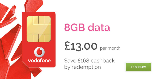 Vodafone 20GB data