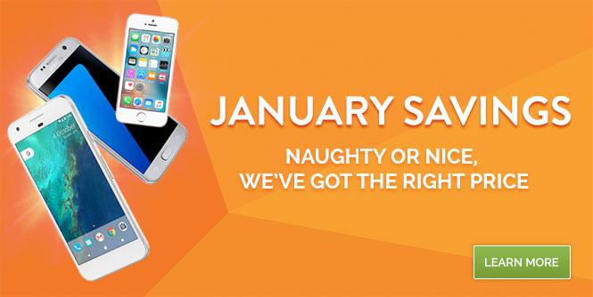 January Phone Deals
