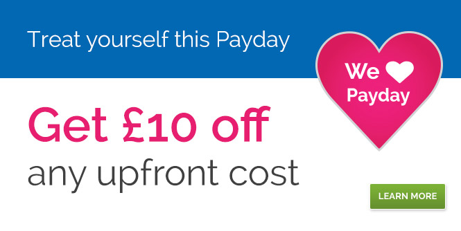 £10 off for Payday
