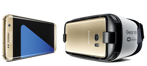 Gear VR with Galaxy S7 edge
