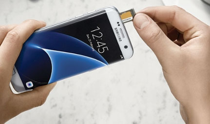 Refurbished Samsung Galaxy S7 Edge hardware