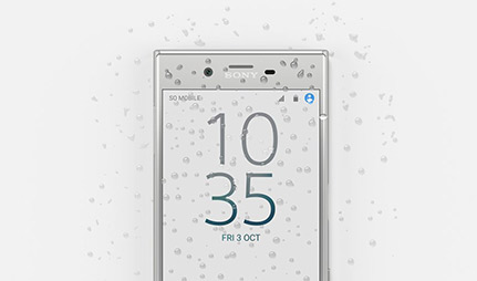 Sony Xperia XZ waterproof