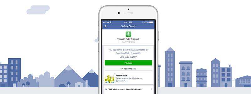 Smartphone SOS - Facebook Safety Check