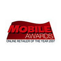 Mobile Awards Online Retailer of the Year Winner 2007