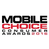 Mobile Choice Consumer Awards Online Retailer Winner 2016