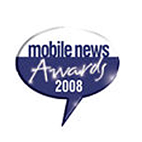 Mobile News Awards Best Online Retailer Winner 2008